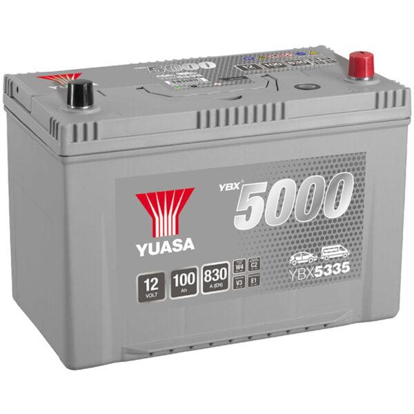 Batería Yuasa YBX5335 – 12V – 95Ah – 830A (EN)